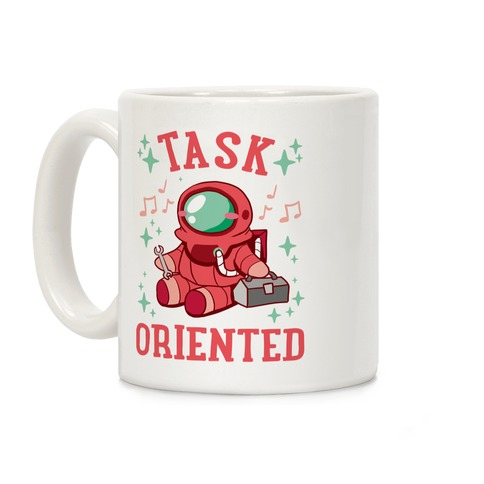 Task Oriented Coffee Mug