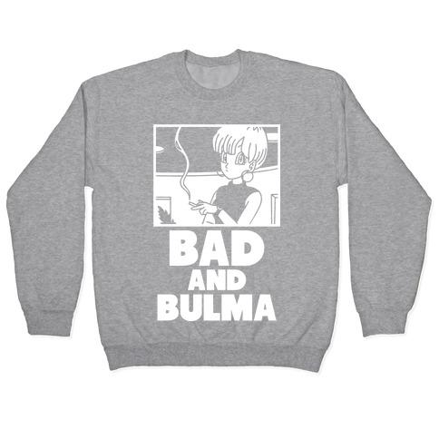 Bad And Bulma Pullover