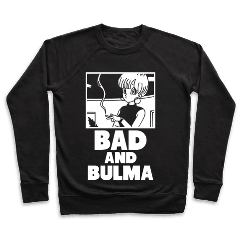 Bad And Bulma Pullover