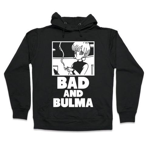 Bad And Bulma Hooded Sweatshirt