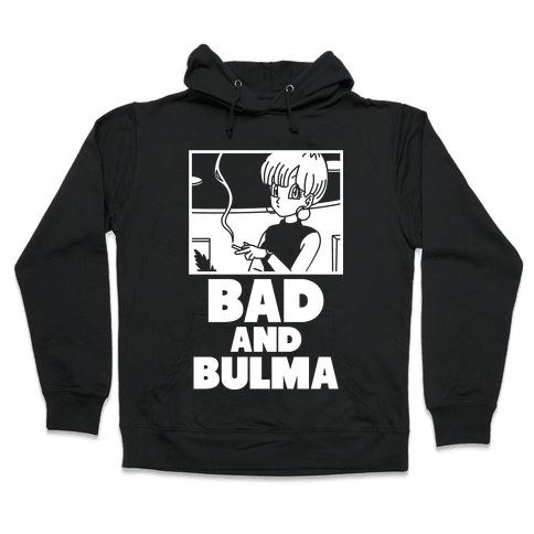 Bad And Bulma Hooded Sweatshirt