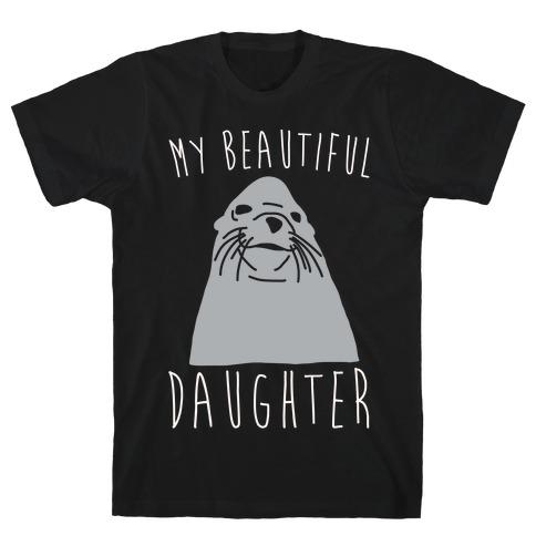 My Beautiful Daughter White Print T-Shirt