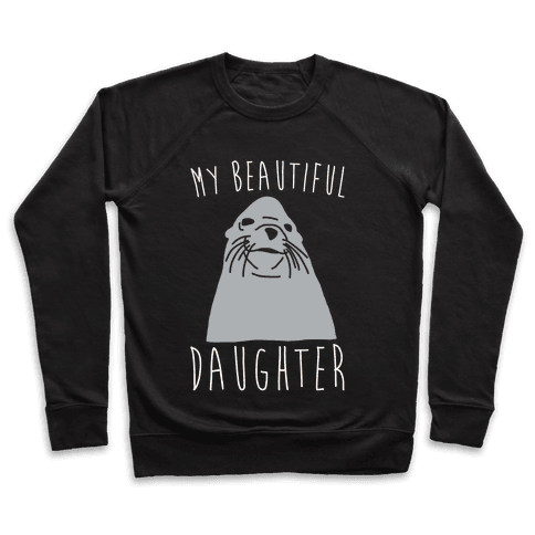My Beautiful Daughter White Print Pullover