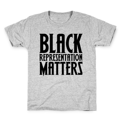 Black Representation Matters Kids T-Shirt