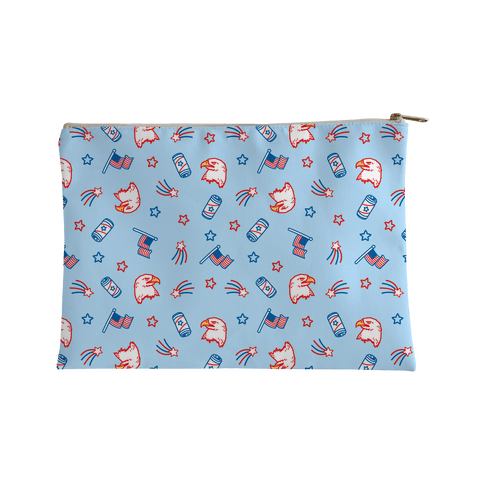 Merica Pattern Accessory Bag