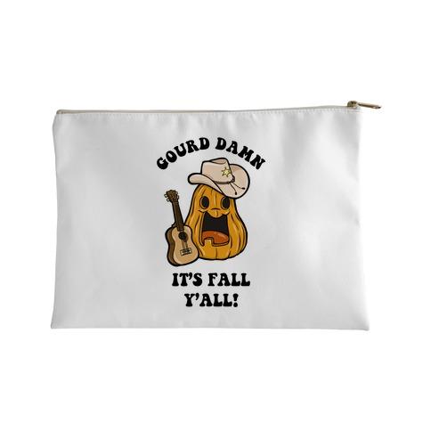 Gourd Damn It's Fall Y'all! Accessory Bag