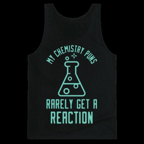My Chemistry Puns Tank Top