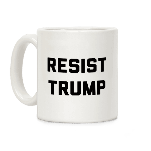 Resist Trump Coffee Mug
