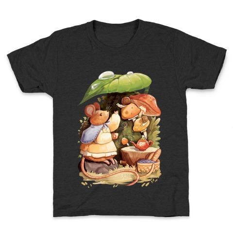 Mouse Tea Time Kids T-Shirt