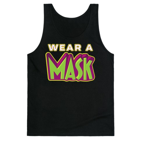 Wear a Mask Tank Top