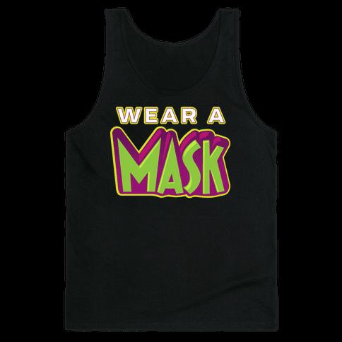 Wear a Mask Tank Top