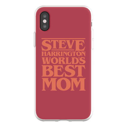 Steve Harrington World's Best Mom Parody Phone Flexi-Case