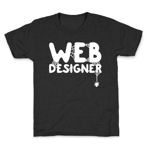 Web Designer Kids T-Shirt