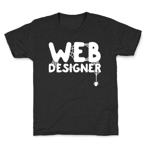 Web Designer Kids T-Shirt