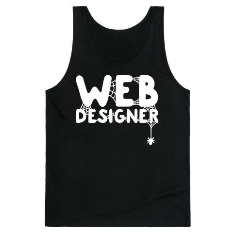 Web Designer Tank Top