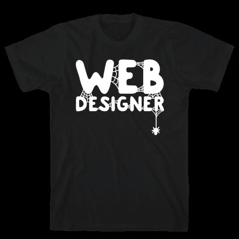 Web Designer Mens T-Shirt