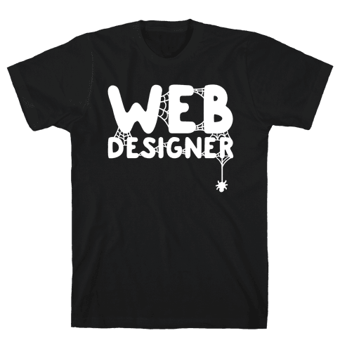 Web Designer Mens T-Shirt