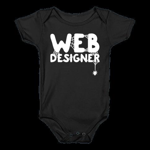 Web Designer Baby Onesy