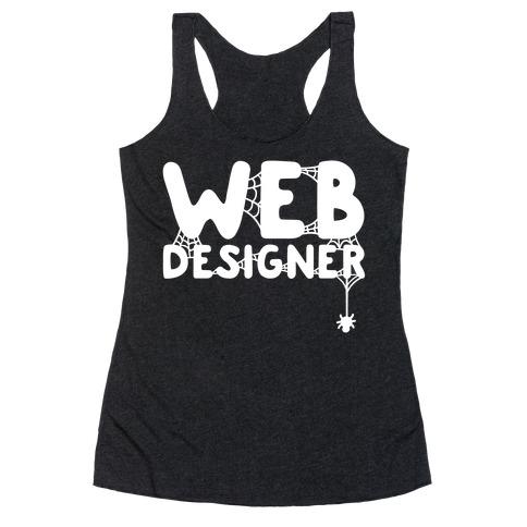 Web Designer Racerback Tank Top