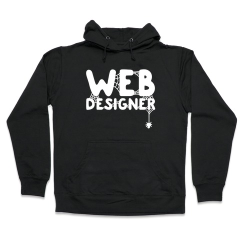 Web Designer Hooded Sweatshirt
