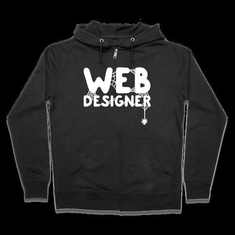 Web Designer Zip Hoodie