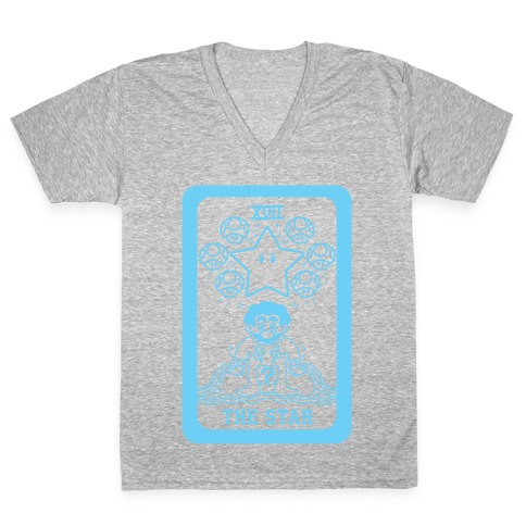 The Star Tarot V-Neck Tee Shirt