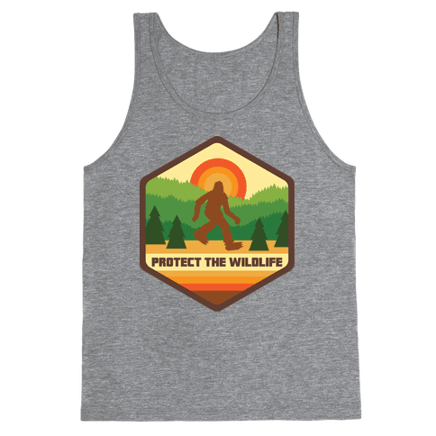 Protect The Wildlife (Bigfoot) Tank Top