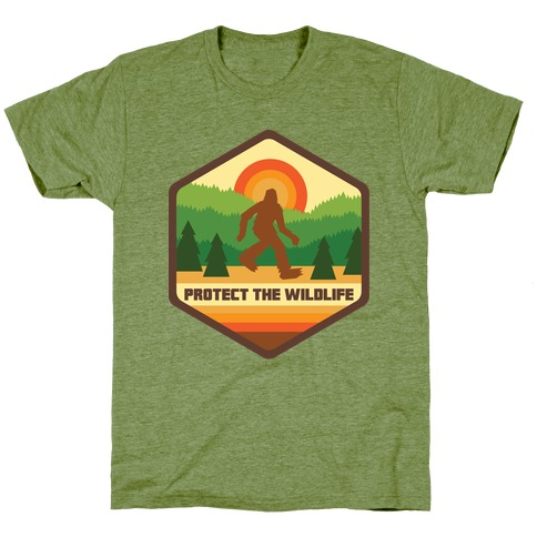 Protect The Wildlife (Bigfoot) T-Shirt