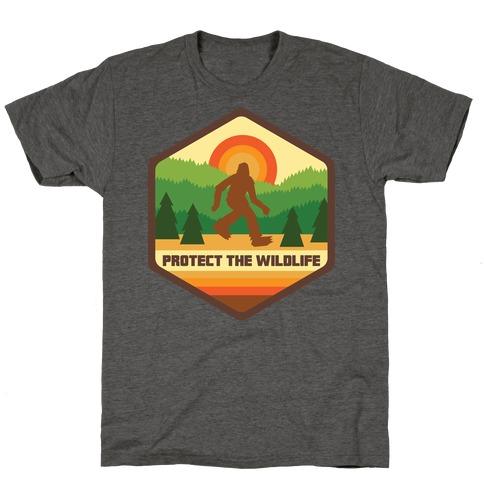 Protect The Wildlife (Bigfoot) T-Shirt