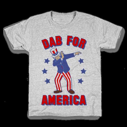 Dab For America Kids T-Shirt