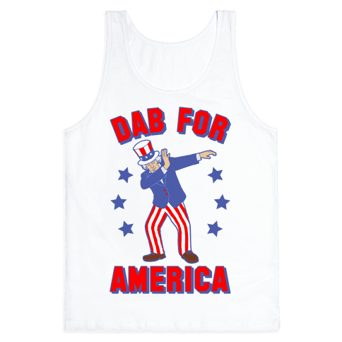 Dab For America Tank Top