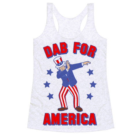 Dab For America Racerback Tank Top