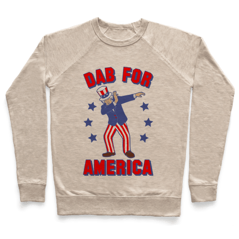 Dab For America Pullover