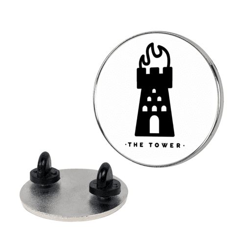 The Tower pin