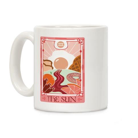 The Sun Breakfast Tarot Coffee Mug