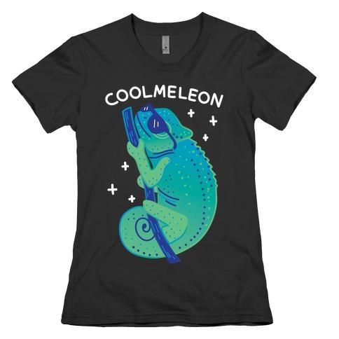 Coolmeleon Chameleon Womens T-Shirt