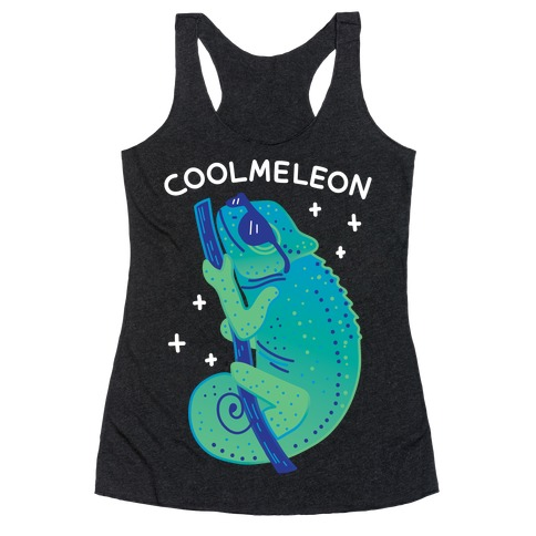 Coolmeleon Chameleon Racerback Tank Top