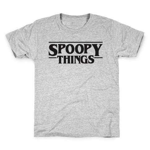Spoopy Things Kids T-Shirt