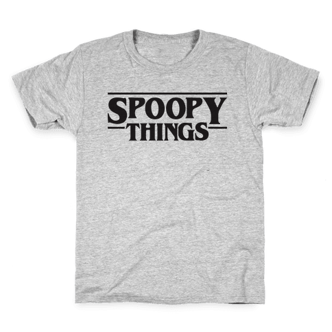 Spoopy Things Kids T-Shirt