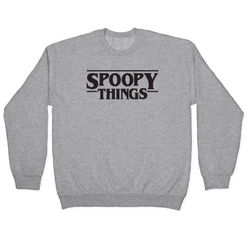Spoopy Things Pullover