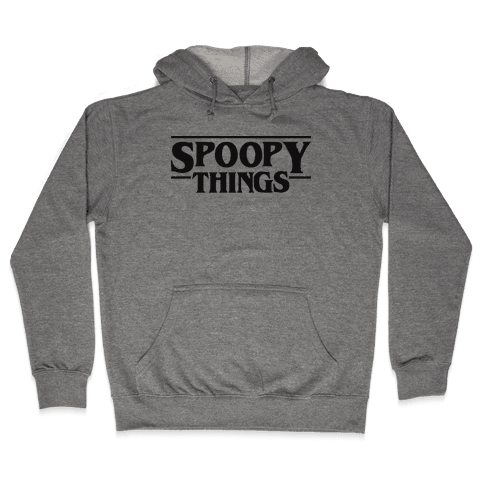 Spoopy Things Hooded Sweatshirt