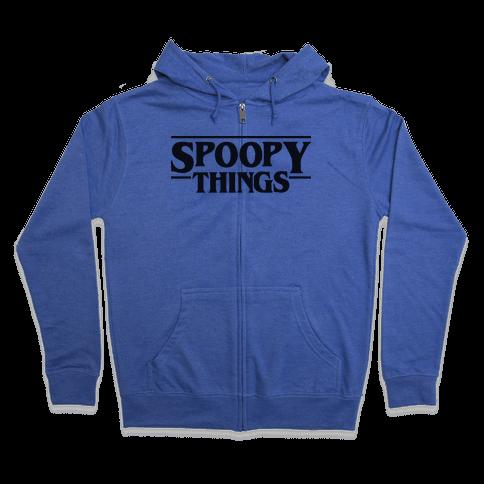 Spoopy Things Zip Hoodie