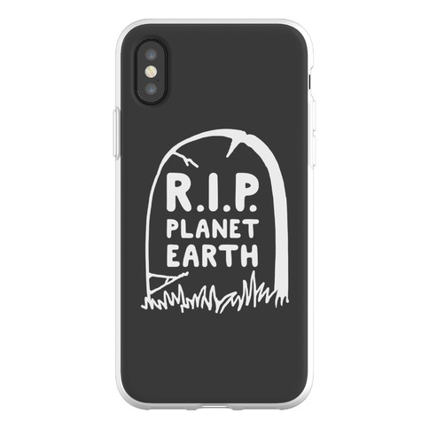 R.I.P. Planet Earth Phone Flexi-Case