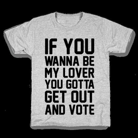 Wannabe Vote Parody Kids T-Shirt