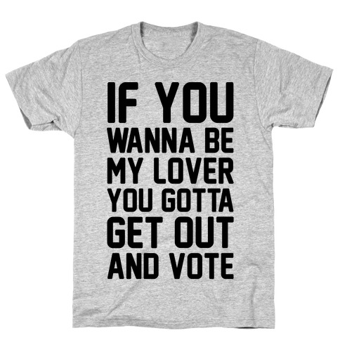 Wannabe Vote Parody T-Shirt