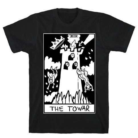 Badly Drawn Tarots: The Tower T-Shirt