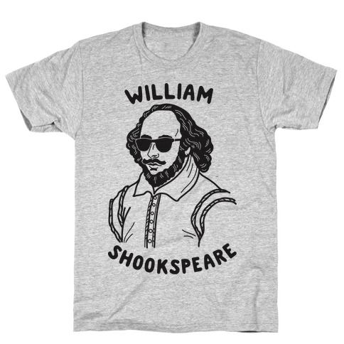 William Shookspeare Mens T-Shirt