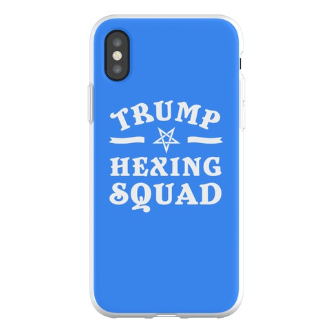 Trump Hexing Squad Phone Flexi-Case