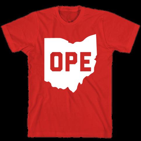 Ope Ohio Mens T-Shirt