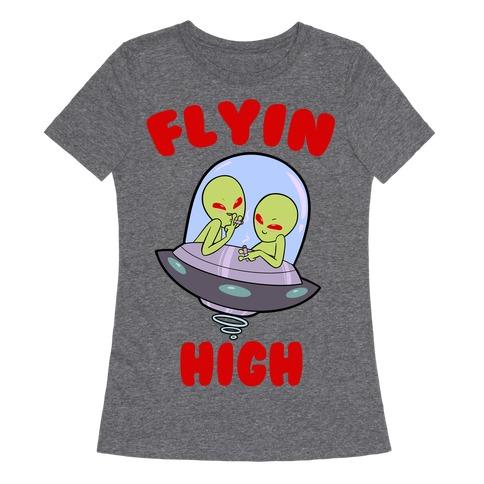 Flyin' High Womens T-Shirt